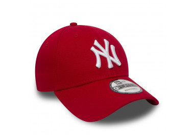 NEW ERA - CASQUETTE 9FORTY LEAGUE BASIC NEW YORK YANKEES ROUGE BLANC - OFFSHOES.FR rouge 25,00€