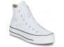 converse montante platform toile blanc 560846c femme-chaussures-baskets-a-plateforme