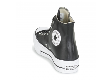 Chuck Taylor All Star Lift Leather noir 561675c 95,00€