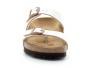 birkenstock sydney birko-flor® pearl-white bk1016171 femme-chaussures-mules-sabots