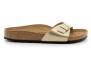 birkenstock madrid doré bk1016107 femme-chaussures-mules-sabots