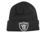 new era winter hat beanie - cuff oakland raiders accessoires-bonnet