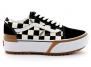 vans old skool stacked noir-blanc vn0a4u15vlv1 femme-chaussures-baskets-a-plateforme
