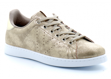 VICTORIA BASKET 125185 - OFFSHOES.FR or platino 65,00€