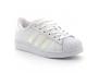 adidas superstar enfant a lacet blanc-neon fv3147