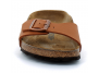 birkenstock madrid ginger-brown bk1019713 femme-chaussures-mules-sabots