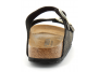 birkenstock arizona w black-gold bk1019372 femme-chaussures-mules-sabots