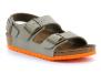 birkenstock milano junior taupe-orange bk035183