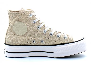 converse chuck taylor all star lift beige 571282c 95,00€