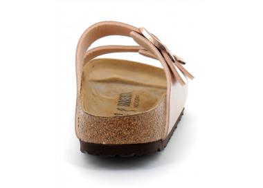birkenstock arizona w metallic-copper bk1020836 75,00€