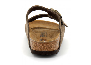 birkenstock arizona w beige-marron bk1019910 95,00€