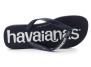 havaianas top logomania navy-blue 4144264.0555 tongs-homme
